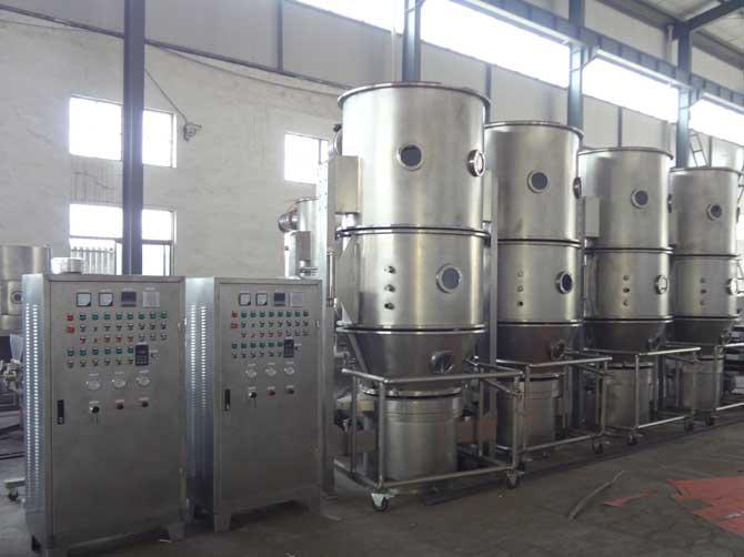 大蒜粉造粒专用沸腾制粒干燥机