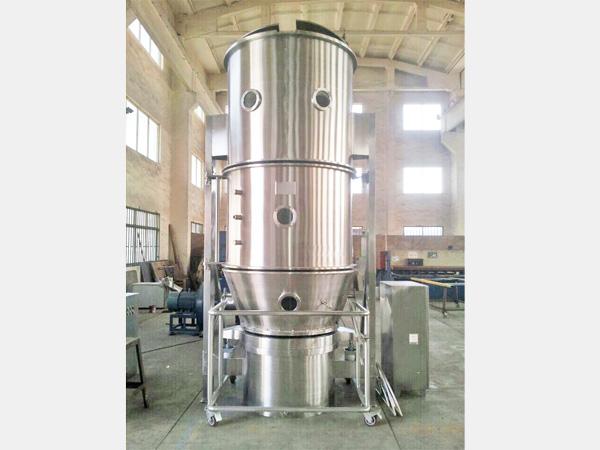 大豆蛋白粉沸腾制粒机